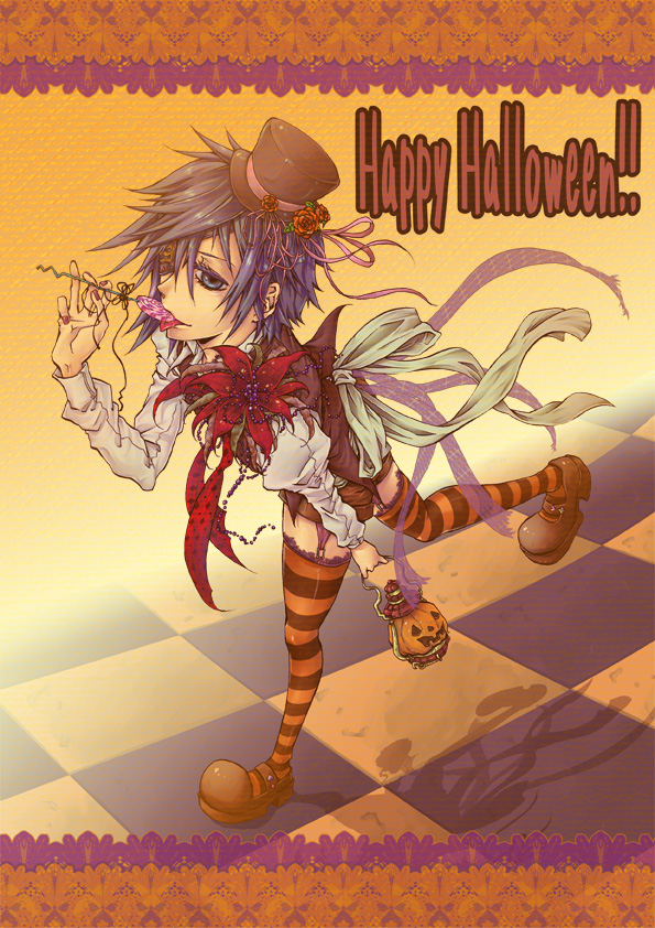 Tags: Anime, Pixiv Id 738824, Kingdom Hearts, Zexion, Organization XIII