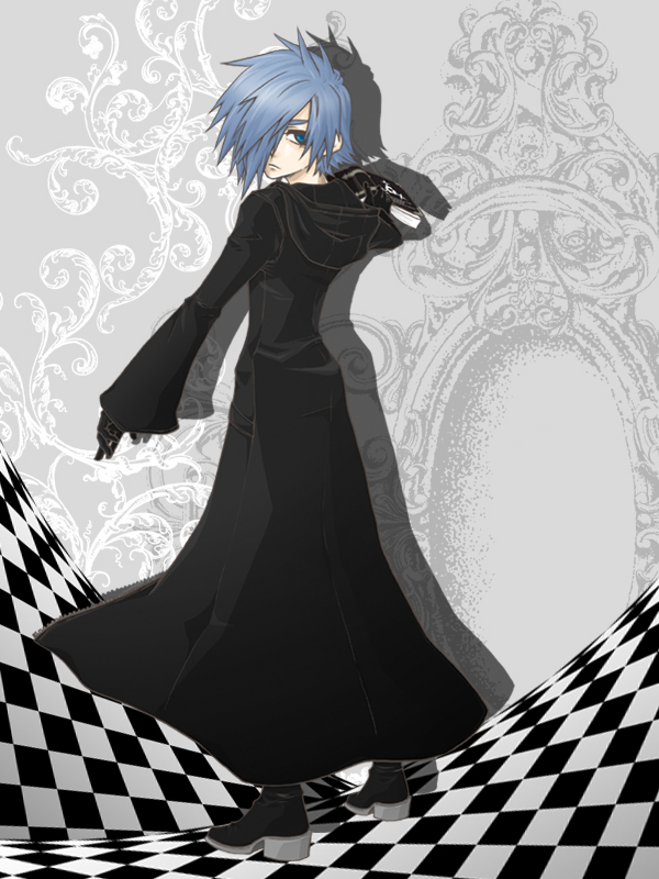 Tags: Anime, Pixiv Id 876704, Kingdom Hearts, Zexion, Organization XIII