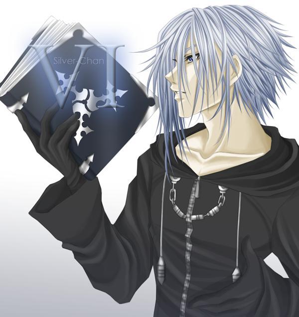Tags: Anime, Kingdom Hearts 358/2 Days, Kingdom Hearts: Chain of Memories, Zexion, Fanart, Organization XIII