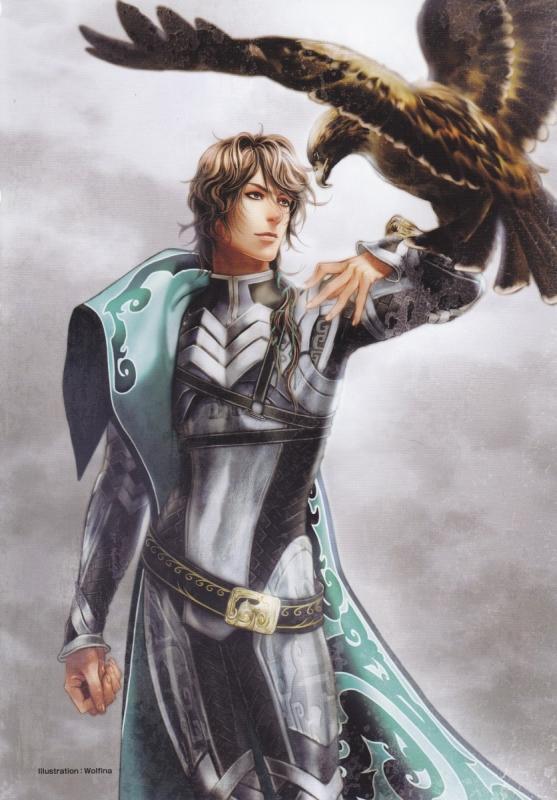 Tags: Anime, Koei, Dynasty Warriors, Zhong Hui, Eagle, Mobile Wallpaper, Artist Request