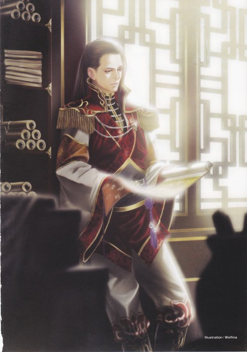 Tags: Anime, Dynasty Warriors, Zhou Yu, Mobile Wallpaper