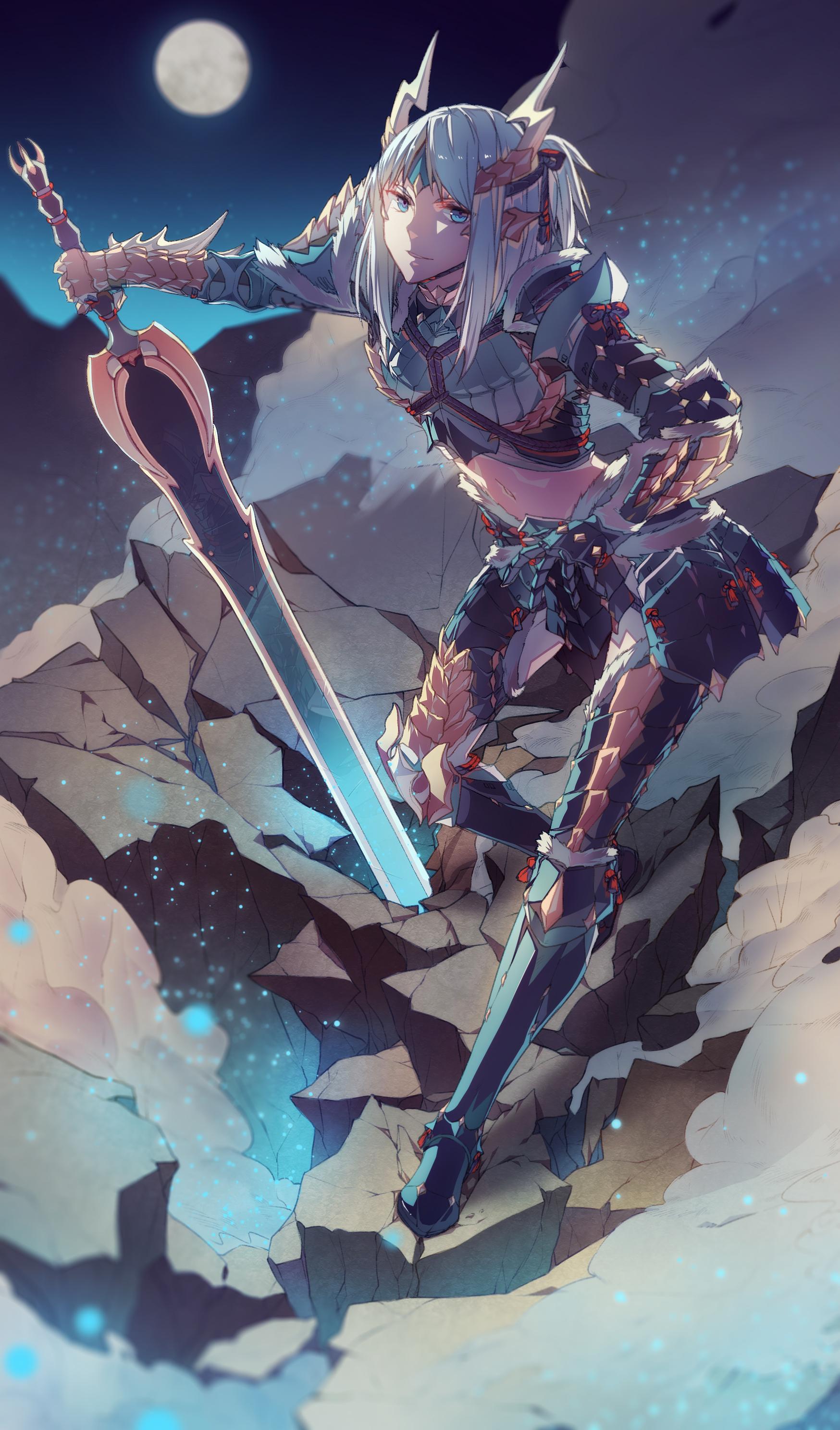Zinogre Armor Monster Hunter Series Zerochan Anime