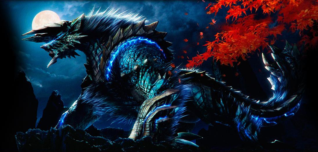 Zinogre Monster Hunter Series Zerochan Anime Image Board