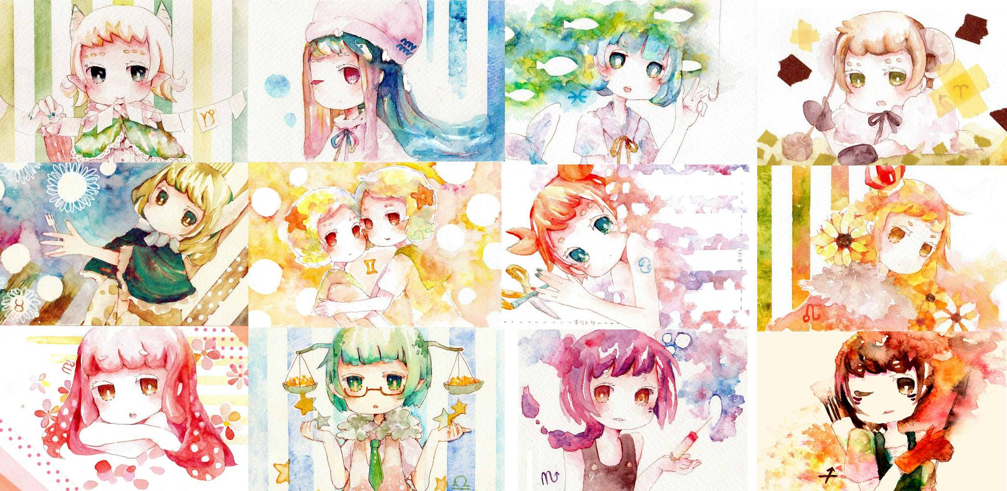 Anime Characters Zodiac Signs Libra : Anime zodiac pisces newhairstylesformen