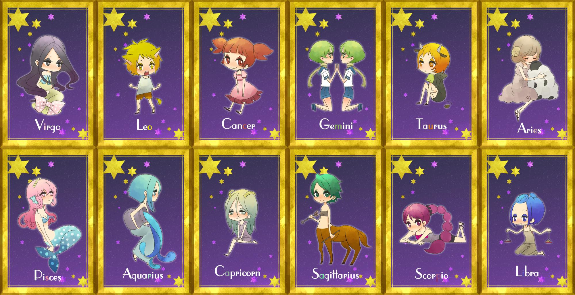 Anime Characters Zodiac Signs Libra : Zodiac wallpaper  zerochan anime image board