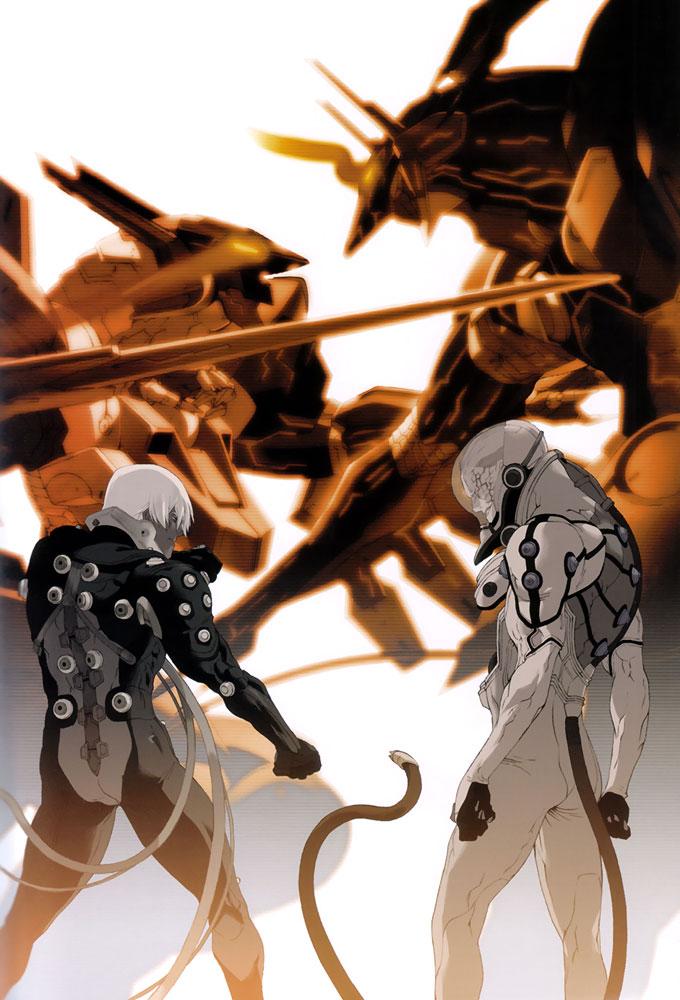 Tags: Anime, KONAMI (Studio), Zone of the Enders, Jehuty, Nohman, Dingo Egret, Anubis (Z.O.E), Official Art