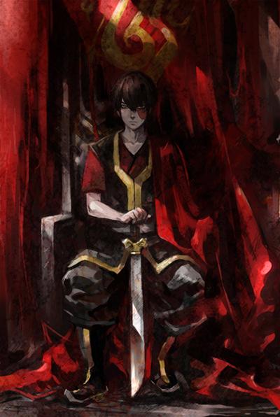 Tags: Anime, Mustard (Artist), Avatar: The Last Airbender, Zuko, Fanart, Mobile Wallpaper