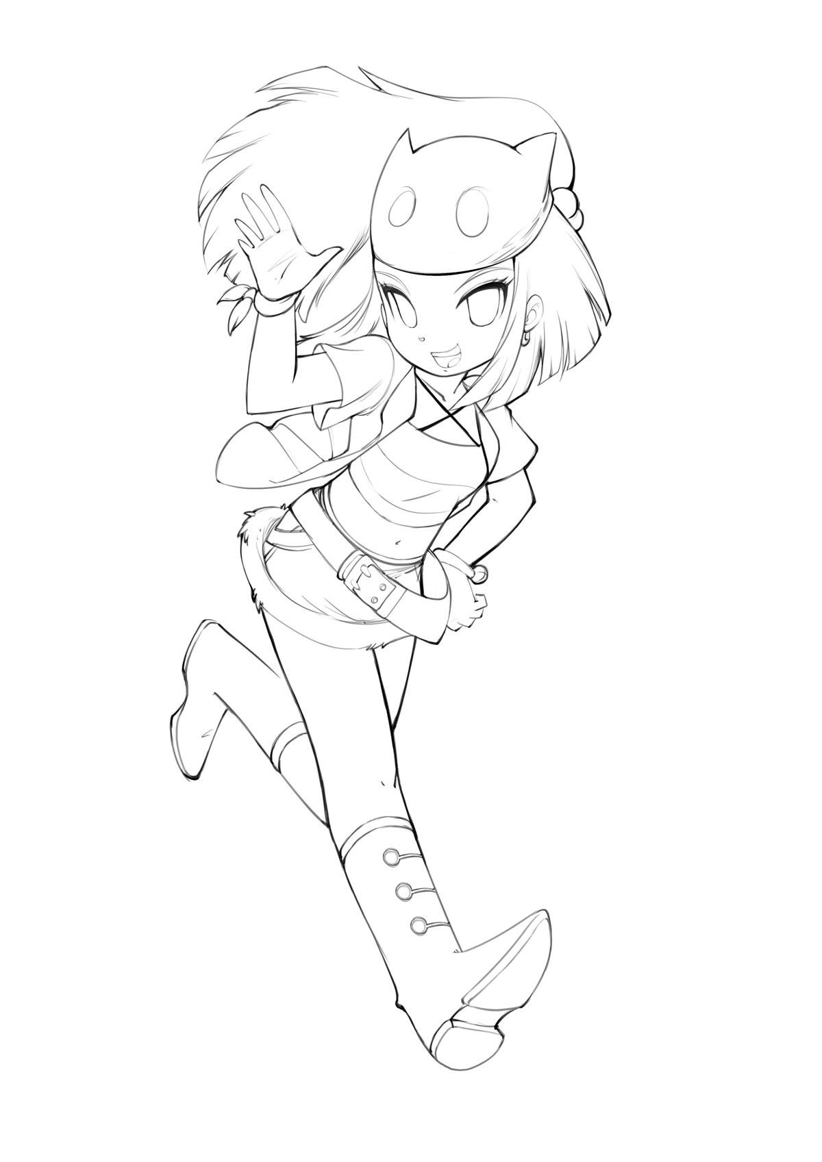 Zerochan Lineart : Bleedman mobile wallpaper  zerochan anime image board
