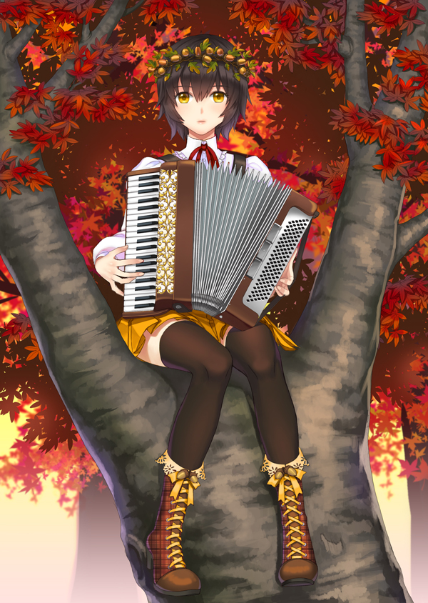 Tags: Anime, briska, Accordian, Pixiv, Original, Mobile Wallpaper