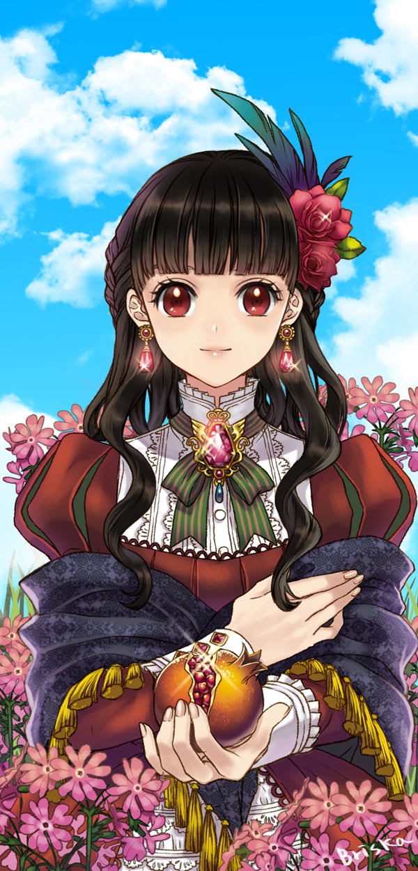 Tags: Anime, briska, Pomegranate, Pixiv, Original