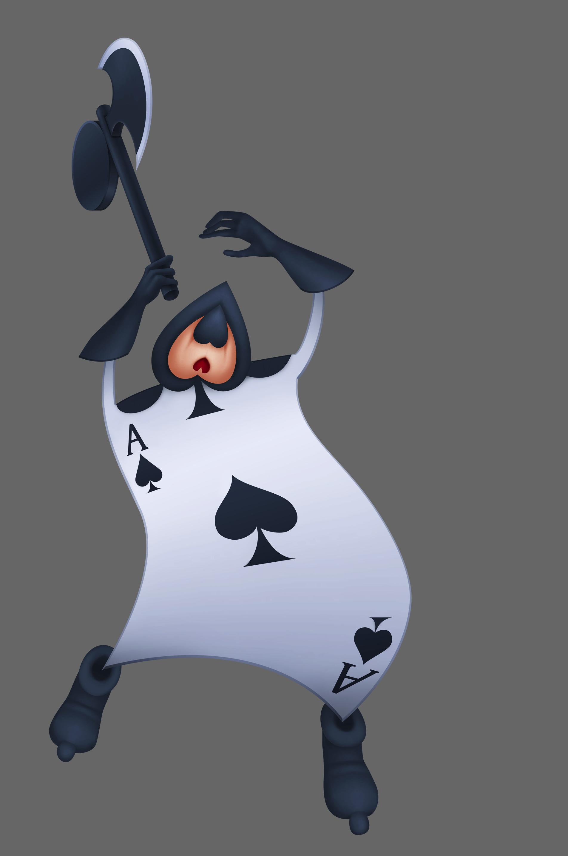 Disney Alice In Wonderland Cards Card Alice in WonderlandAlice In Wonderland Characters Disney Card Guards