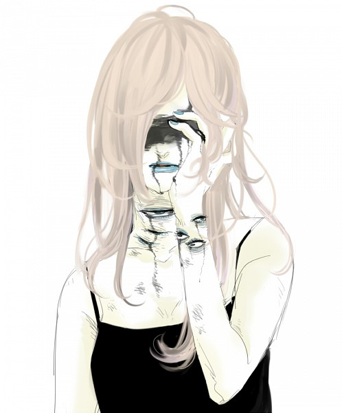 Tags: Anime, dede, Faceless, Blind, Lipstick, Eyes In Odd Places, Creepy