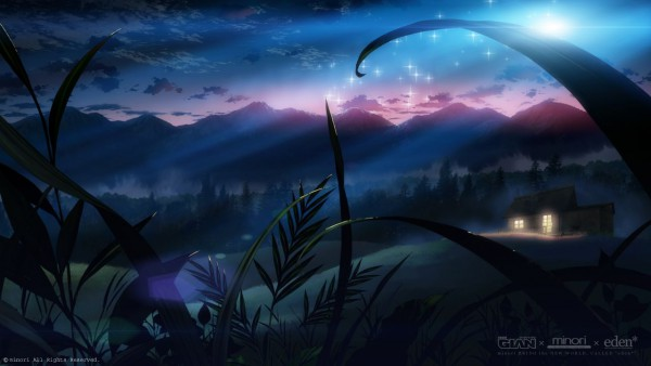 Tags: Anime, Minori, eden*, Scenery, No Character, Mountains, No People