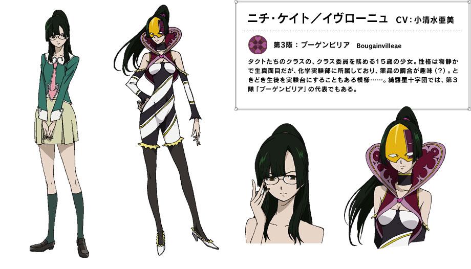 Itou Yoshiyuki Mangaka; Star Driver Series; Ivrogne Character