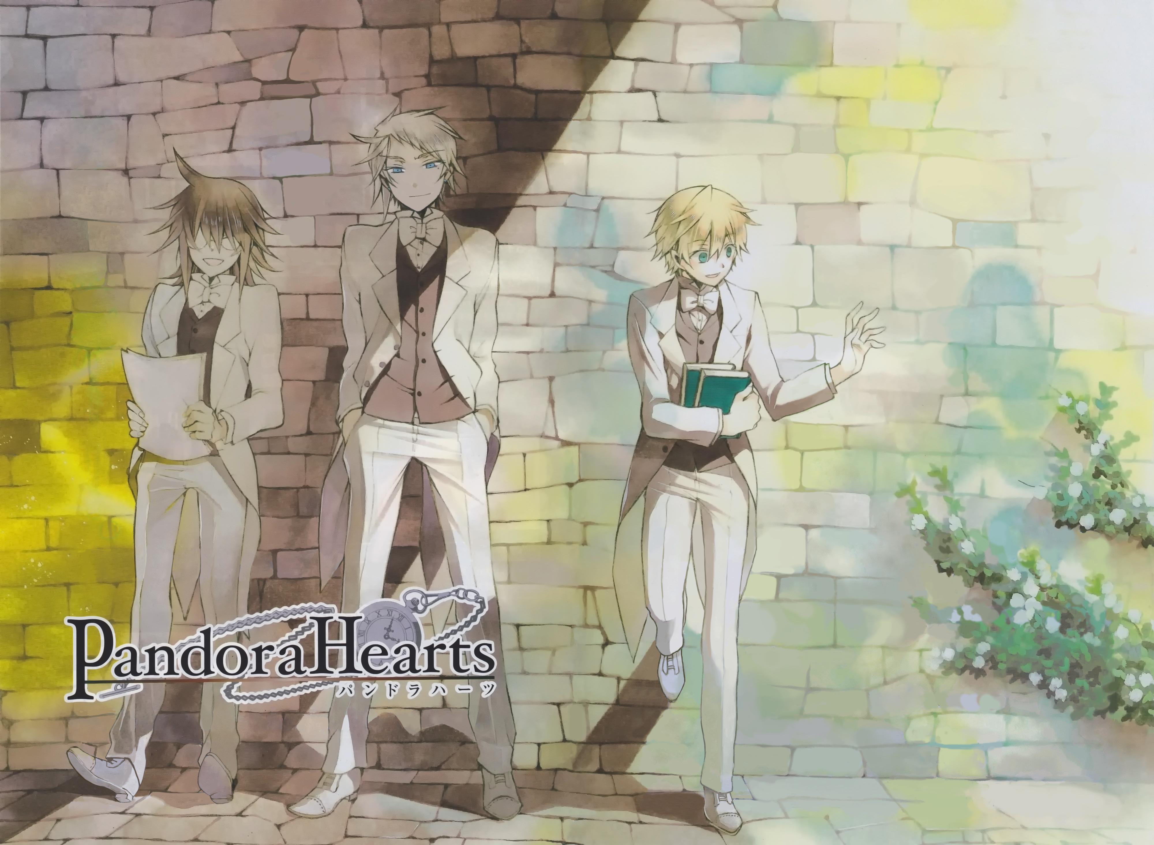 Nova portada do volume 14 de Pandora hearts 481060