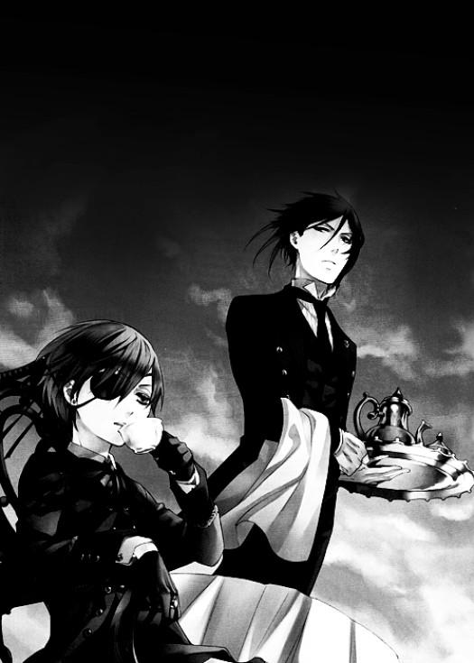 Tags: Anime, Kuroshitsuji, Sebastian Michaelis, Ciel Phantomhive