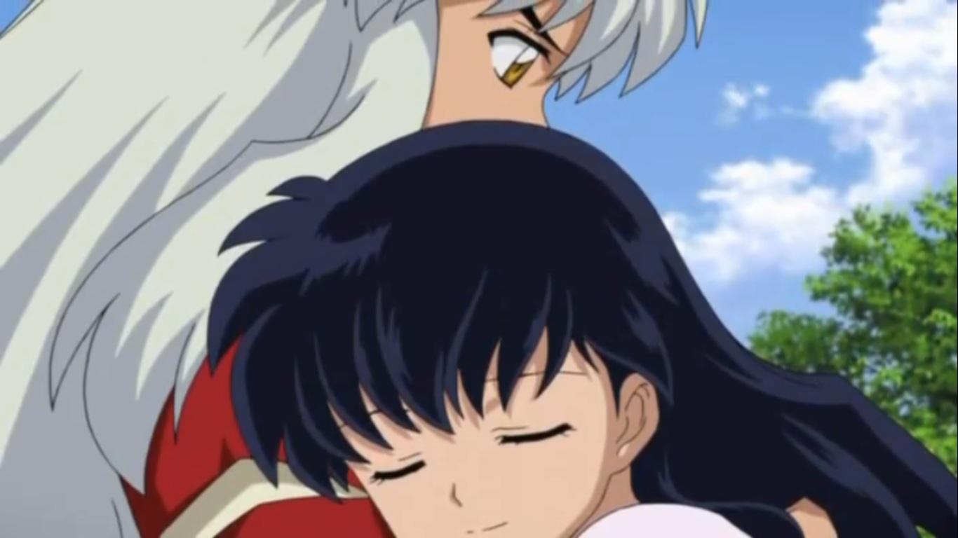 Inuyasha And Kagome Kiss Final Act