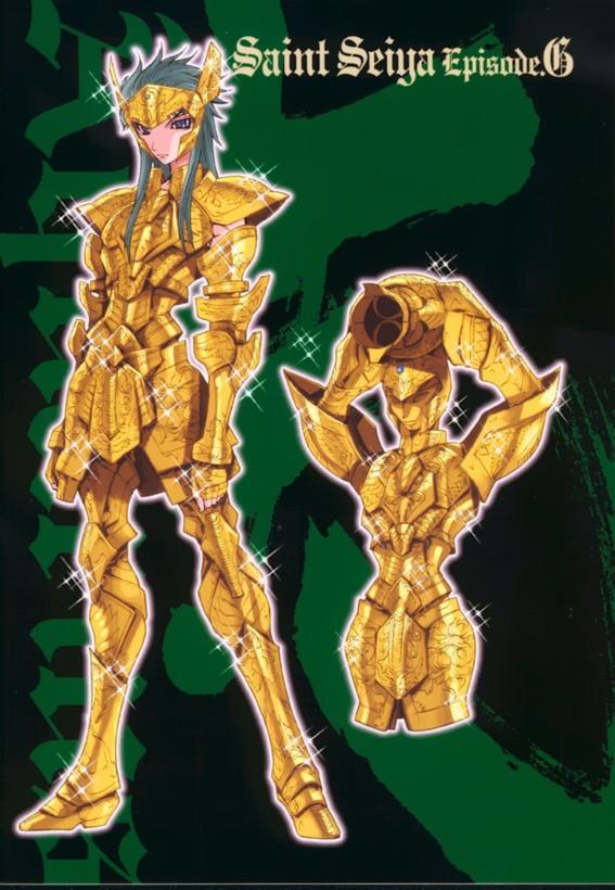 EPISODE G - Enciclopedia dei personaggi - GOLD SAINT - Aquarius Camus