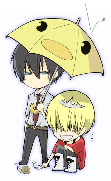 Tags: Anime, Katekyo Hitman Reborn!, Hibird, Hibari Kyoya, Belphegor