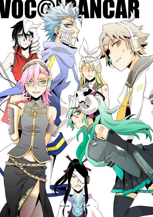 Tags: Anime, Bleach, Tite Kubo, Vocaloid, Ulquiorra Schiffer