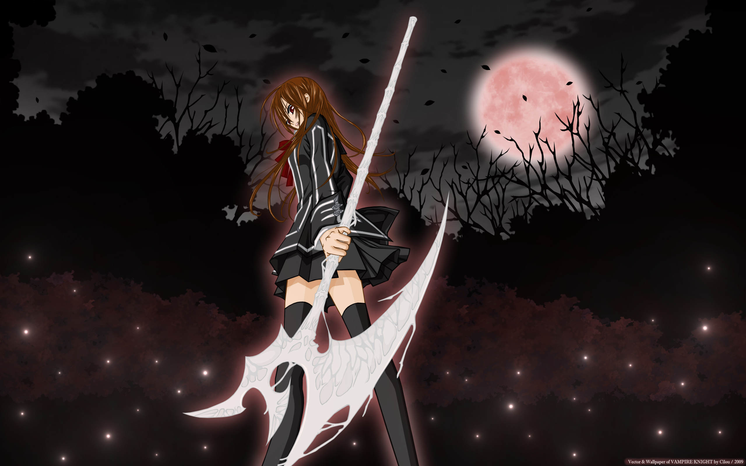Vampire Knight: Yuki Cross - Wallpaper Actress