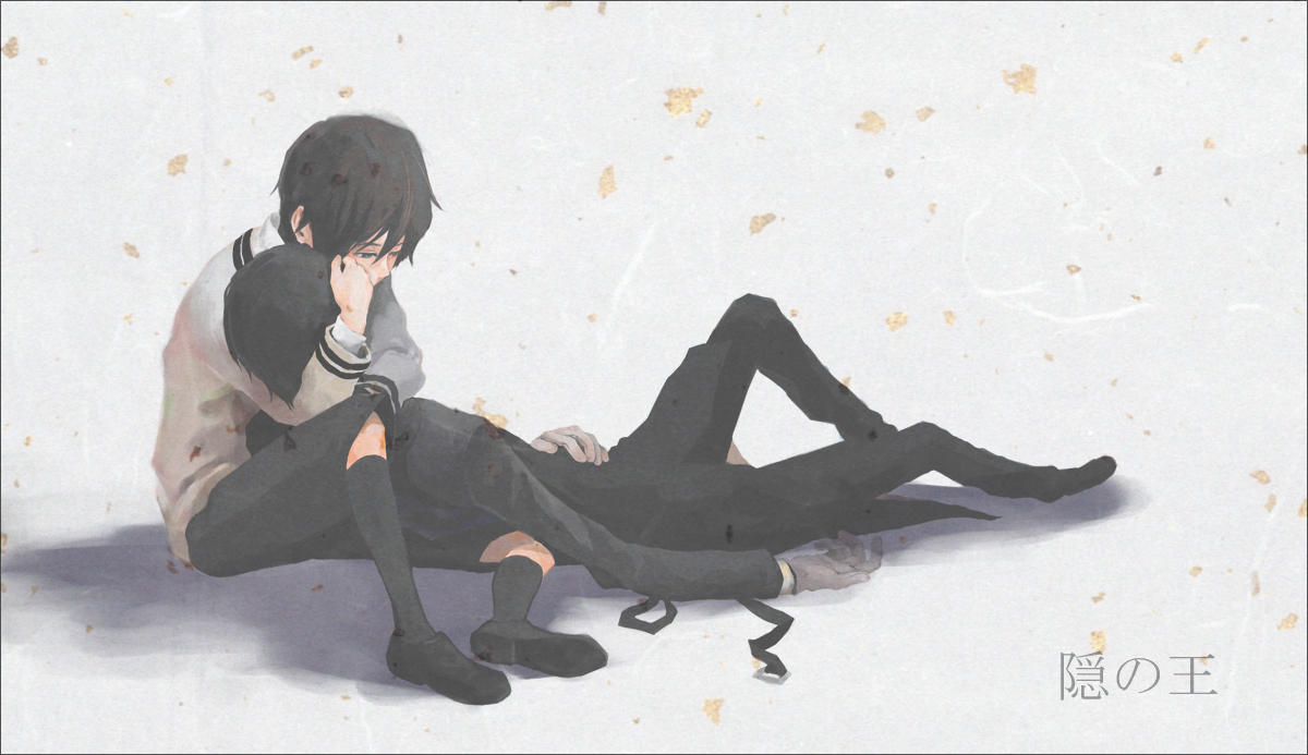 Yoite x Miharu (Nabari no Ou)   Yaoi   Pinterest   Anime ... Nabari No Ou Yoite Chibi