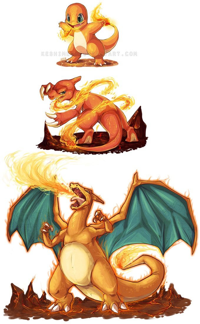 Charizard generation 3 move learnset (Ruby, Sapphire ...