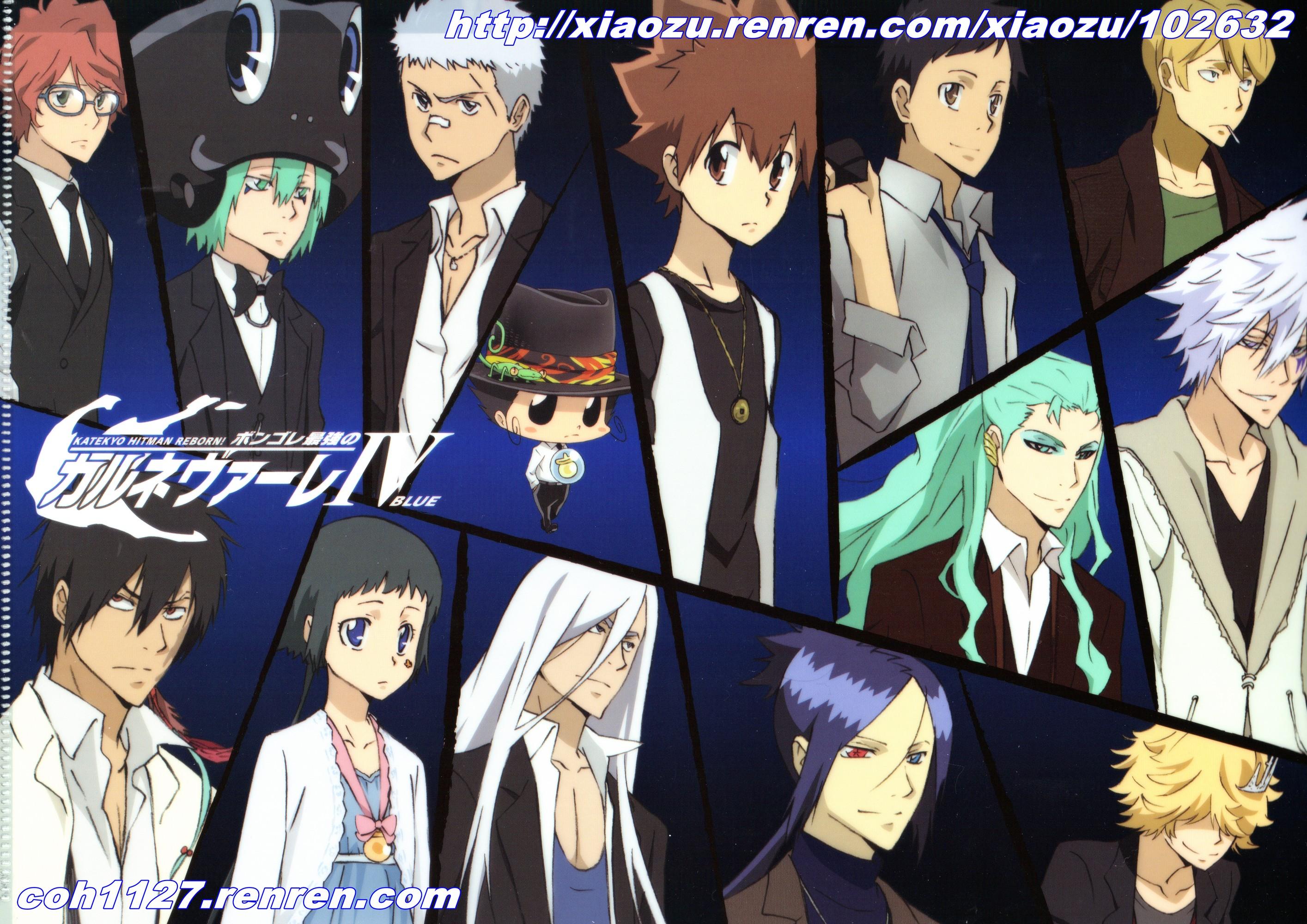Top 10 Reborn Characters Katekyo Hitman Reborn! Full