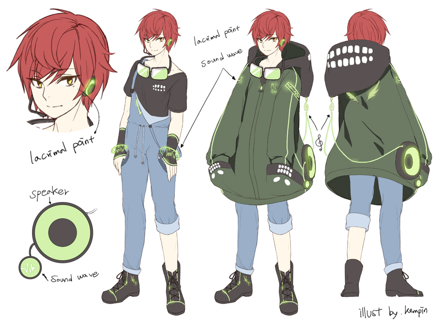 Anime Character Design Contest : Kempin image zerochan anime board