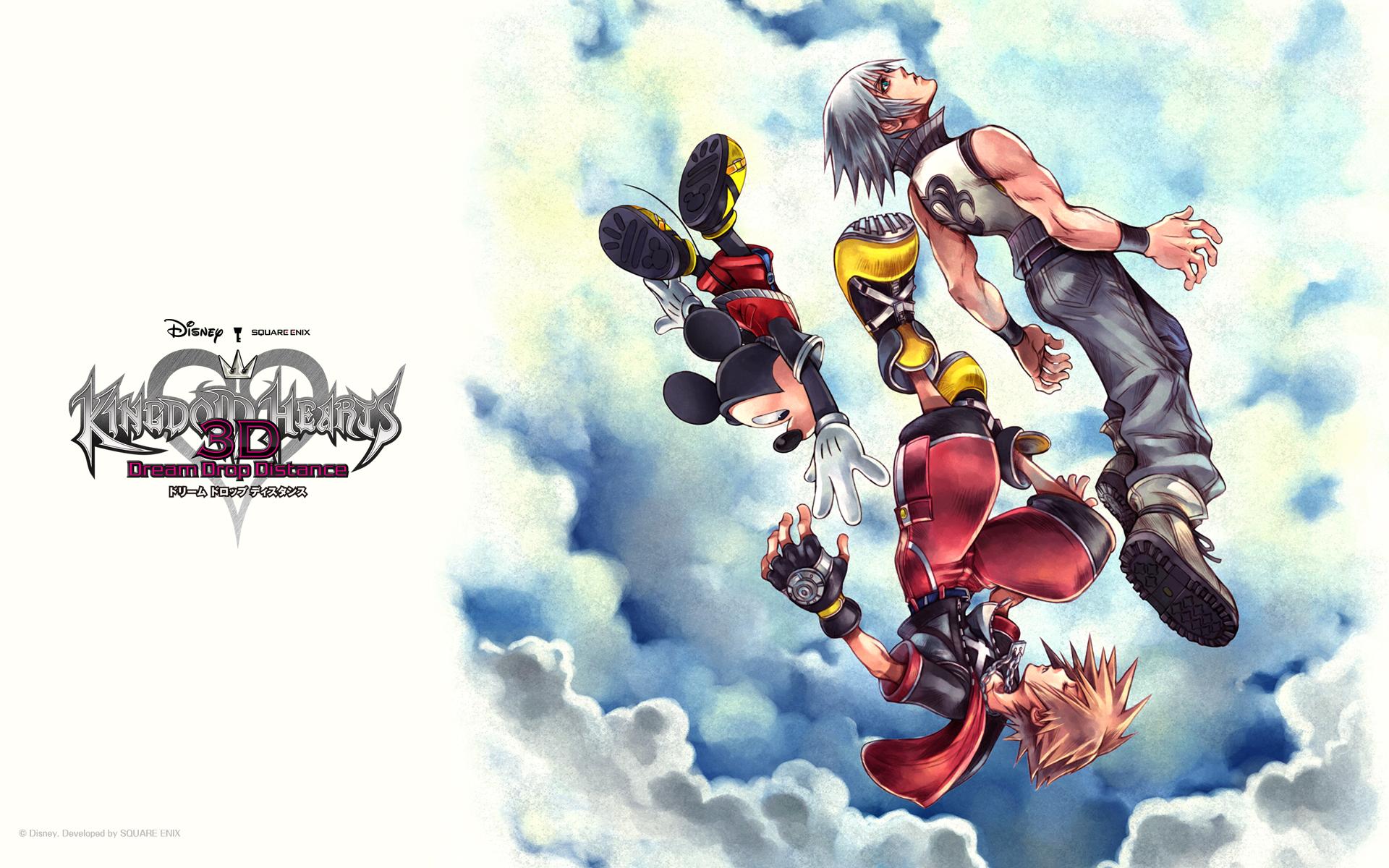 Kingdom Hearts 3 Disney Characters Kingdom Hearts D%a Dream Drop Distance Full