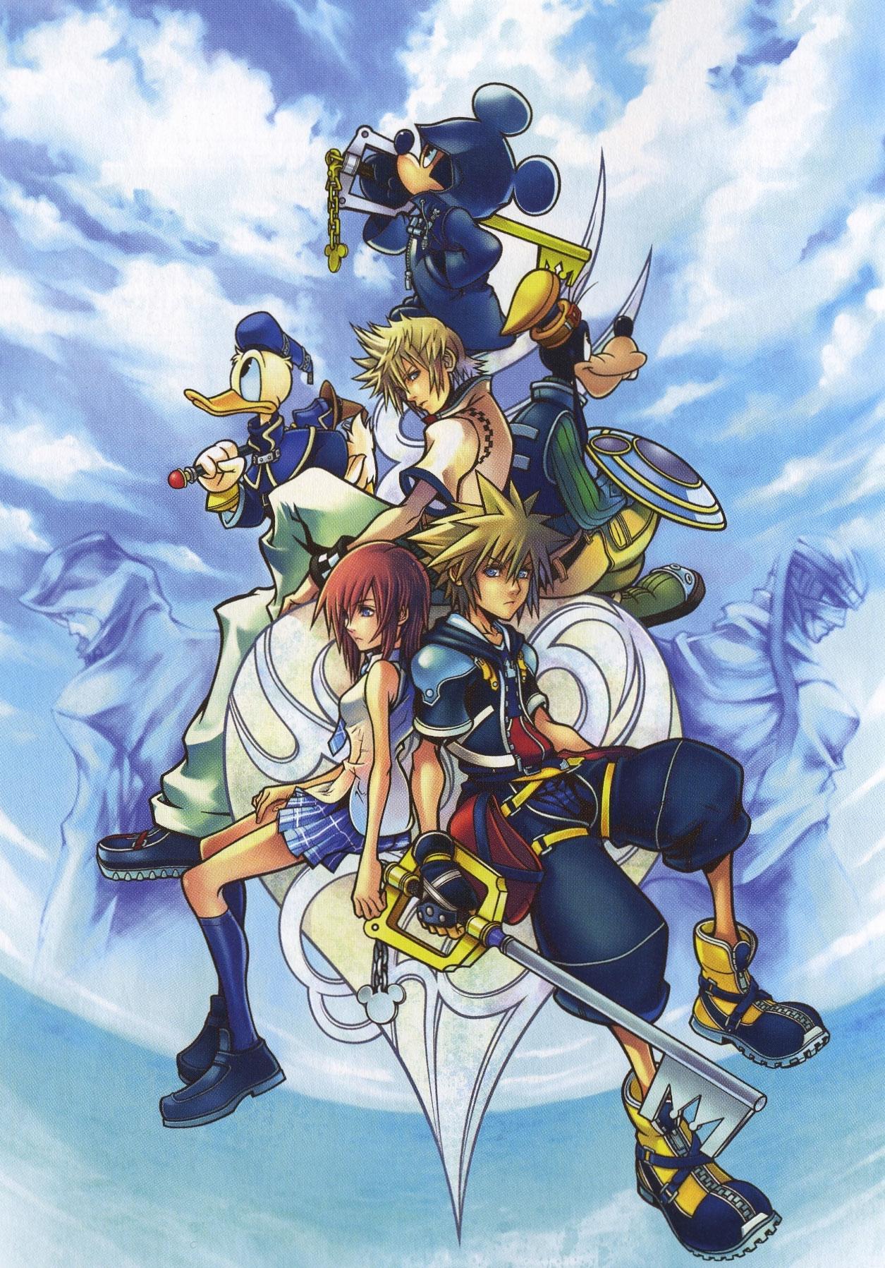Kingdom Hearts 3 Disney Characters Kingdom Hearts Ii Full