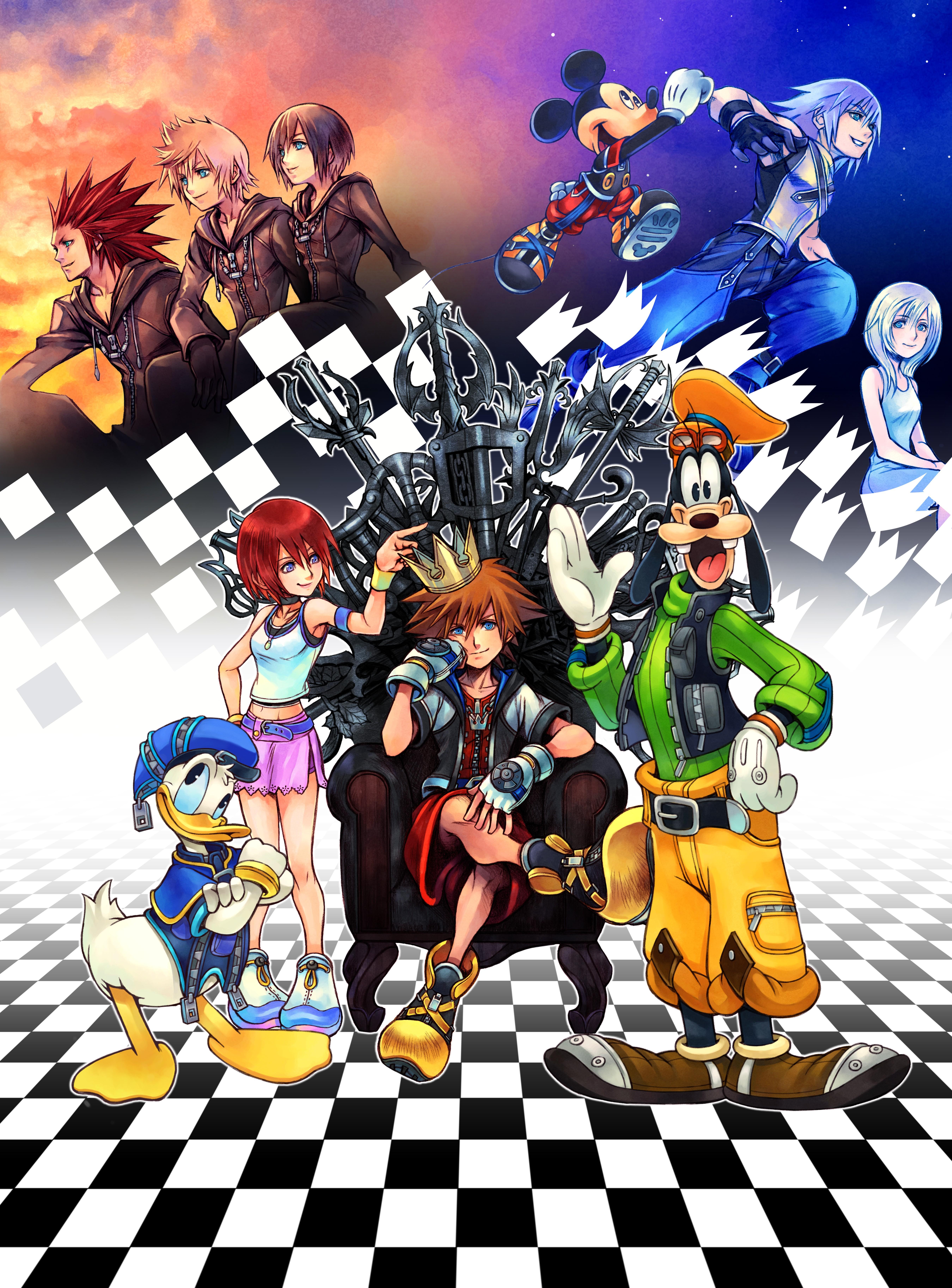 Kingdom Hearts 3 Disney Characters Kingdom Hearts Series Full