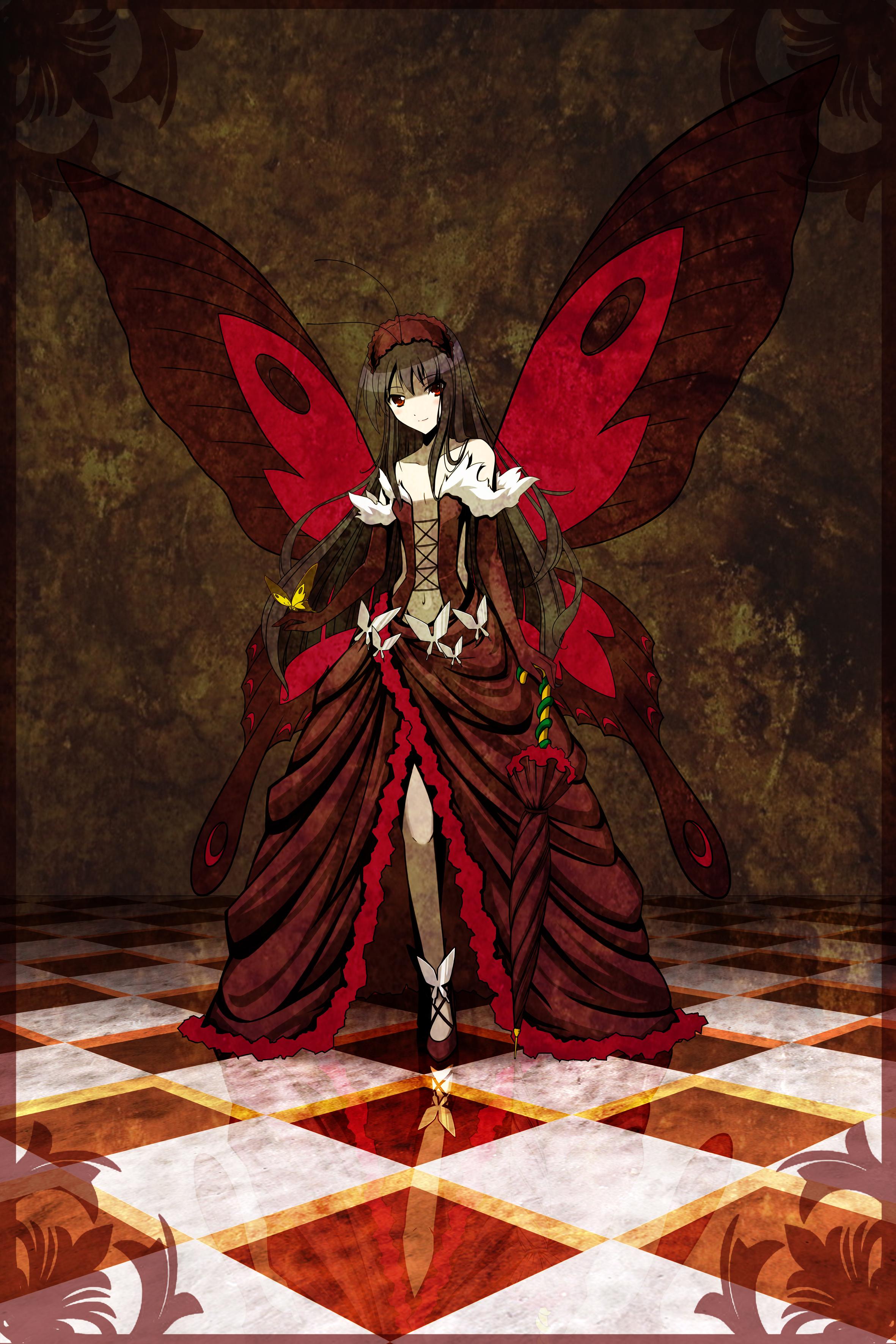 Kuroyukihime Butterfly Drawing Kuroyukihime Full
