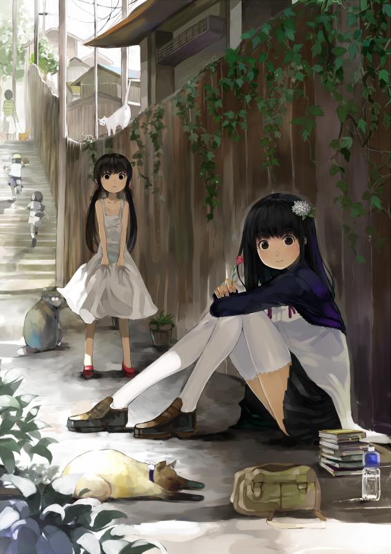 Tags: Anime, nauribon, Pixiv, Original, Mobile Wallpaper
