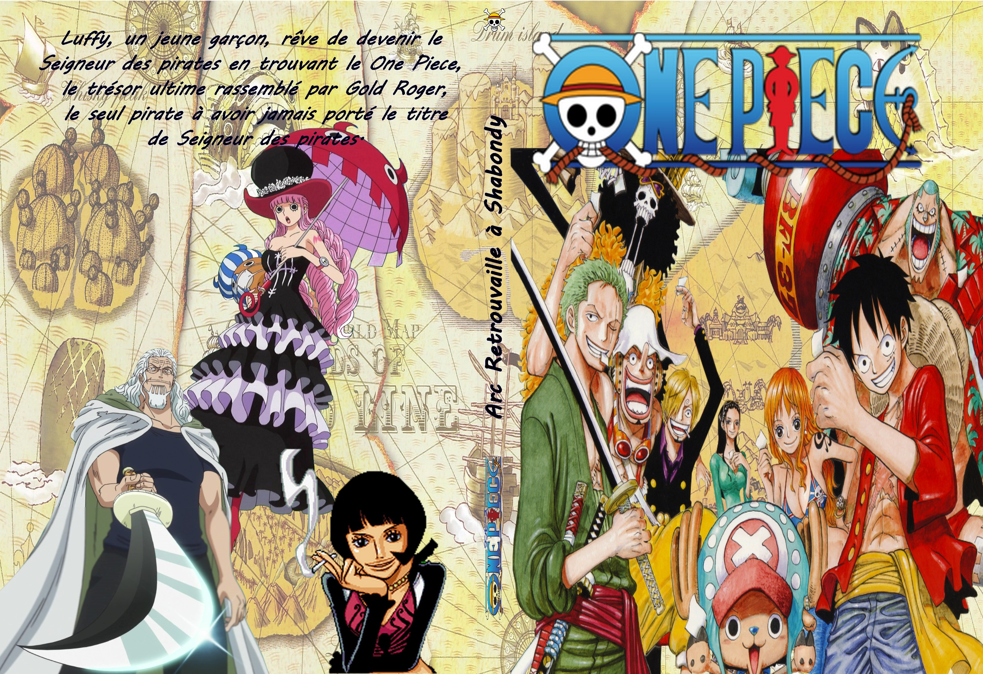 Roger Pirates Members One Piece Full