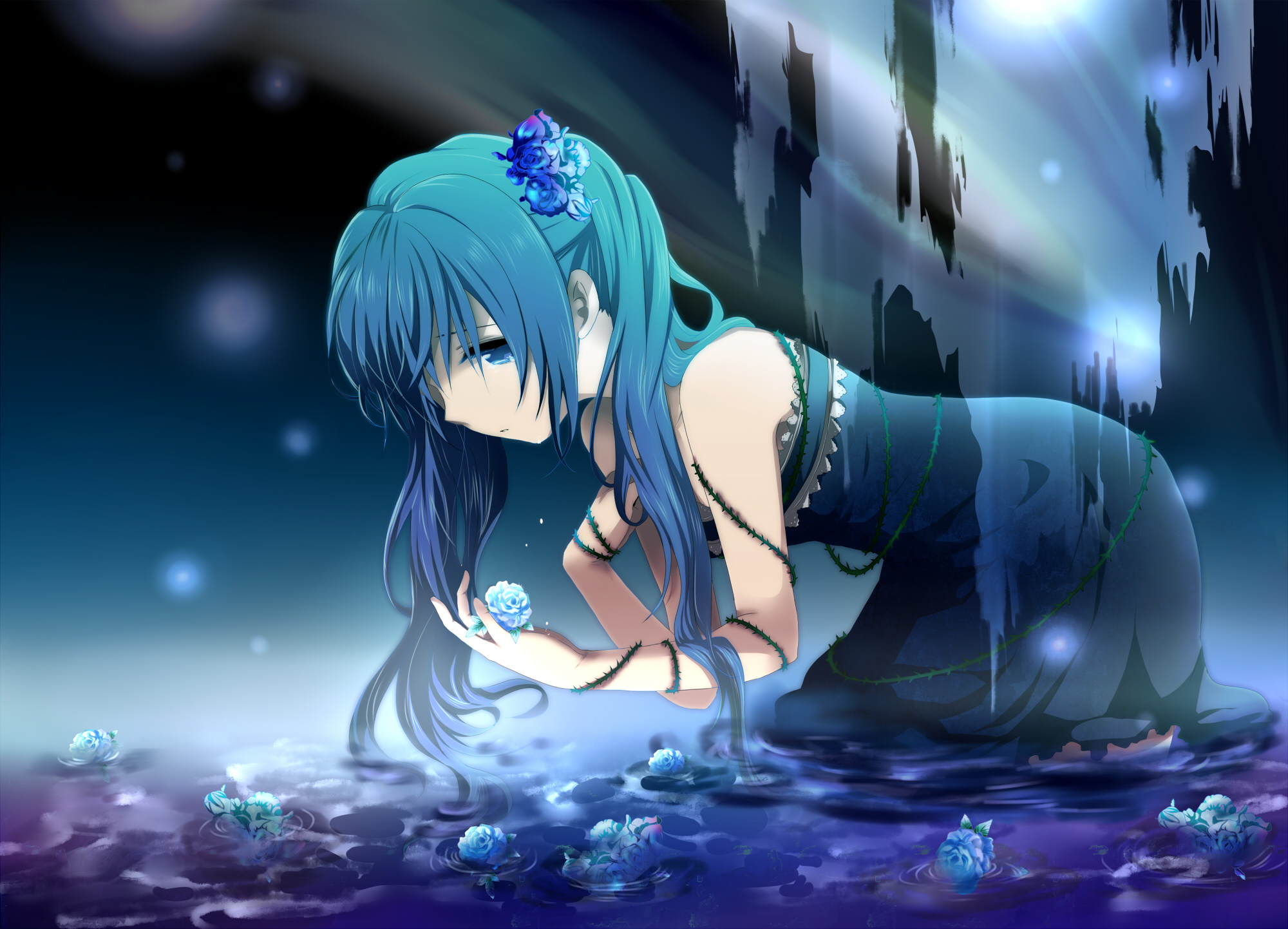 Sad vocaloid page 14 zerochan anime image board paranoia song download paranoia song image sciox Choice Image