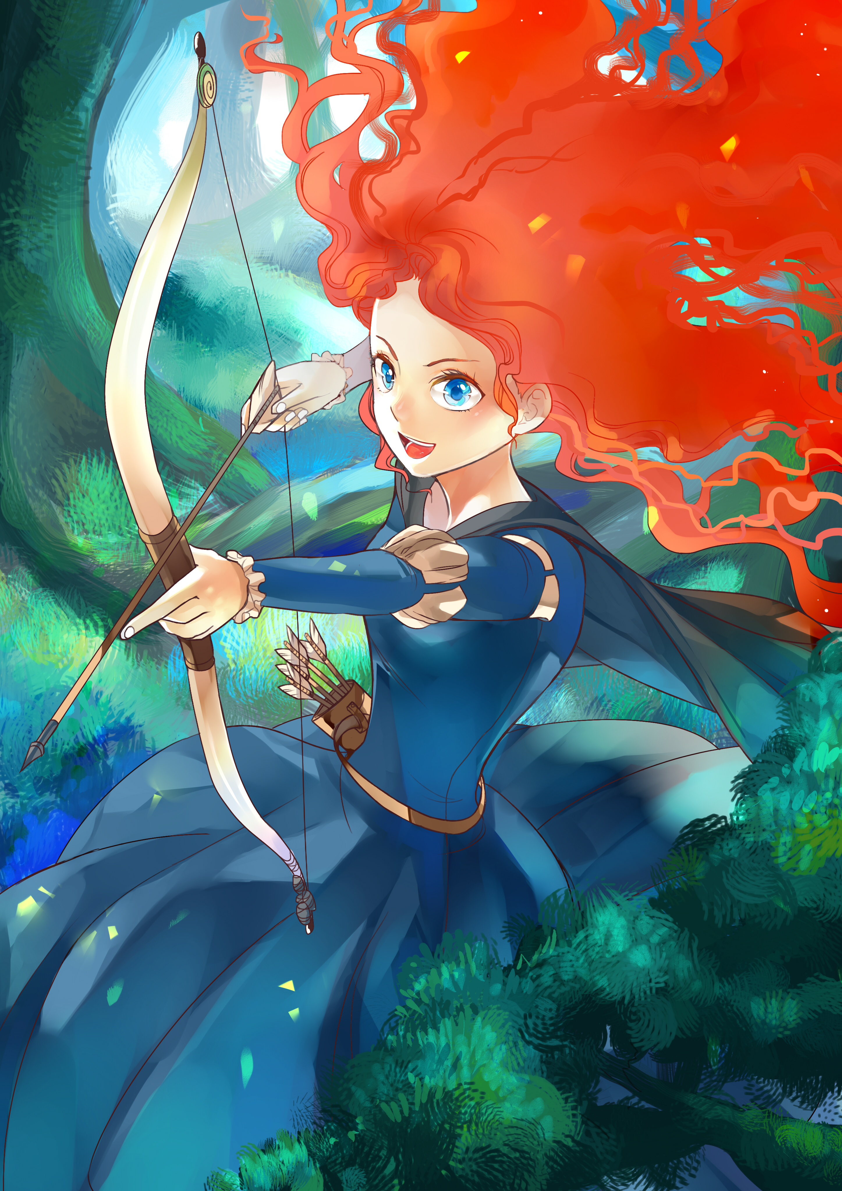 Merida As A Princess Princess M%c%arida Full